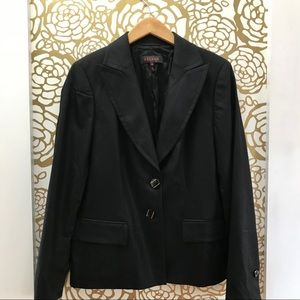 Escada Classic Black Wool Blend Blazer